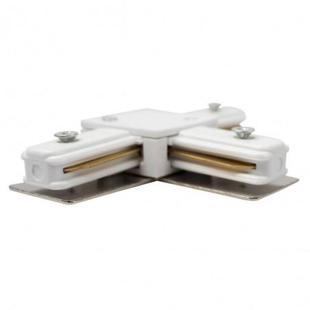 Cumpara Conector pentru șina LED 2x90° Alb LED market in Romania, livrarea in toata Romania
