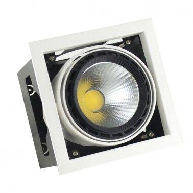 Cumpara Spot cu LED orientabil incastrabil LED market 1COB LS60-1 in Romania, livrarea in toata Romania