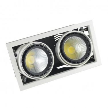 Cumpara Spot cu LED orientabil incastrabil LED market 2COB LS60-2 in Romania, livrarea in toata Romania