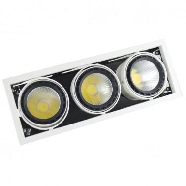 Cumpara Spot cu LED orientabil incastrabil LED market 3COB LS60-3 in Romania, livrarea in toata Romania