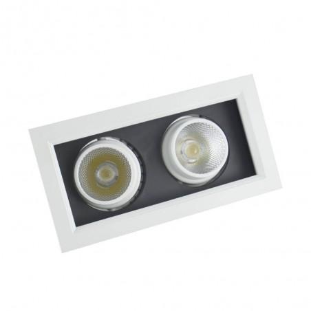 Cumpara Spot cu LED orientabil incastrabil LED market 2COB X160-2 in Romania, livrarea in toata Romania