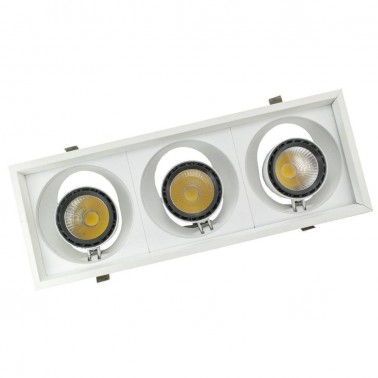 Cumpara Spot cu LED orientabil incastrabil LED market 3COB S2052-3 in Romania, livrarea in toata Romania