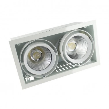 Cumpara Spot cu LED orientabil incastrabil LED market X70-2 COB in Romania, livrarea in toata Romania