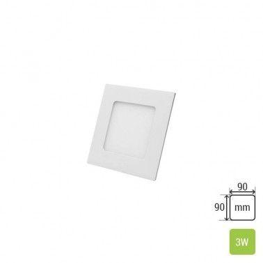 Cumpara Spot LED Patrat Incastrat LM-P0103-SR 3W in Romania, livrarea in toata Romania