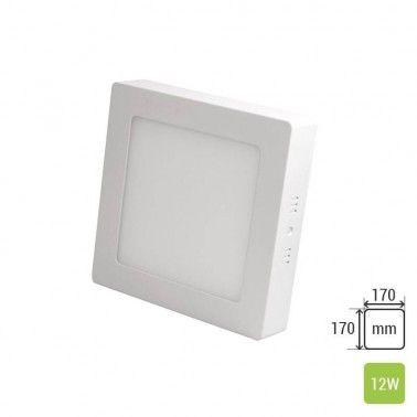 Square Ceiling Panel Mounted TS-P0312 (12W) Corpuri de iluminat aplicabile