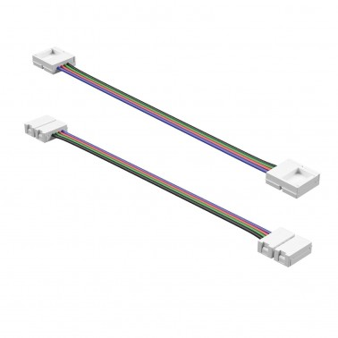 Cumpara Led Strip connector RGB A4P-10mm wire connection L-150mm LED market in Romania, livrarea in toata Romania