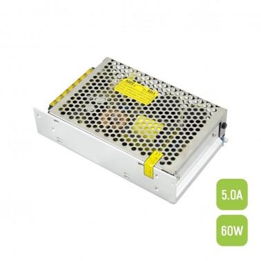 Cumpara Power driver LED market CV 60W, 12VDC, 5.0A, IP20, PS60-W1V12 in Romania, livrarea in toata Romania