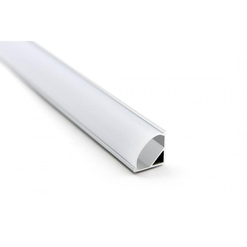 Cumpara Profil de aluminiu pentru banda LED MC-A53-1 2m in Romania, livrarea in toata Romania