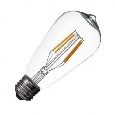 Cumpara Bec cu filament LED E27 ST64 LED market in Romania, livrarea in toata Romania
