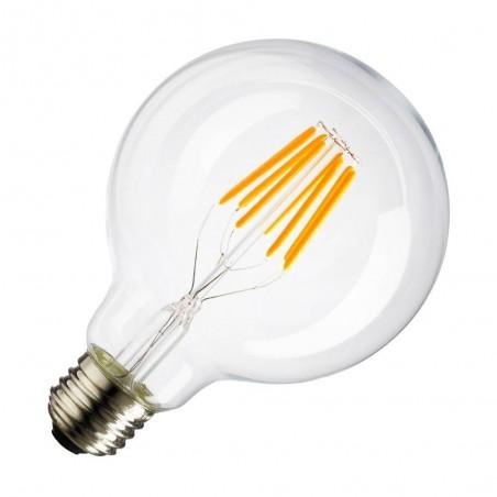 Cumpara Bec cu filament LED E27 G95 LED market in Romania, livrarea in toata Romania