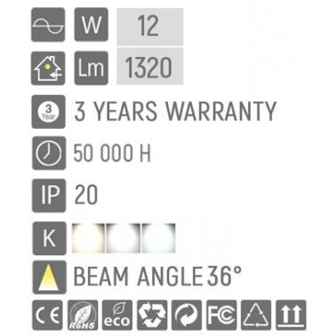 Cumpara Proiector pe șina LED market D-60 Alb 12W in Romania, livrarea in toata Romania