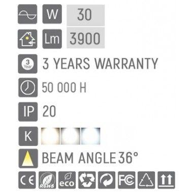 Cumpara Proiector pe șina LED market D-80 Negru 30W in Romania, livrarea in toata Romania