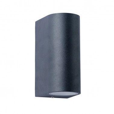 Cumpara Aplica cu LED de perete exterior LED market COB 27014 7W*2 White Neagra in Romania, livrarea in toata Romania