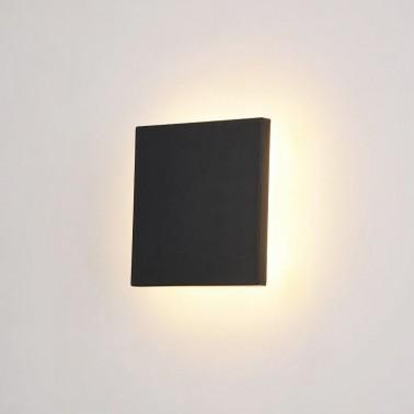 Cumpara Aplica cu LED de perete exterior LED market COB W27046 12W Neagra in Romania, livrarea in toata Romania