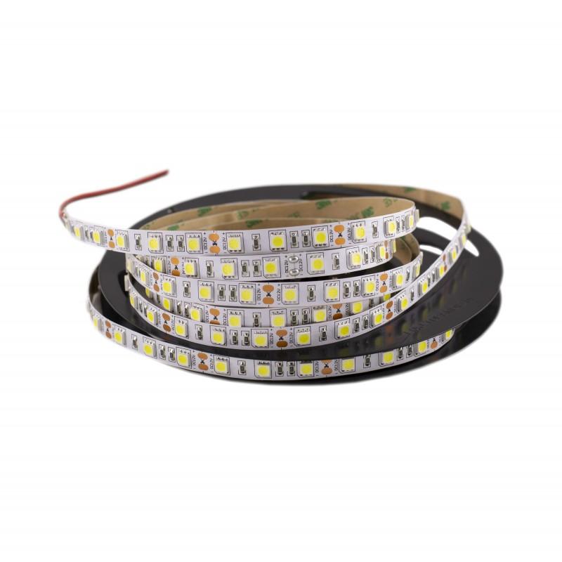 Cumpara Banda LED SMD 5050 lumina rece 3000K 12 (V) LED market 5m/pc in Romania, livrarea in toata Romania