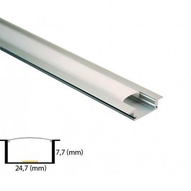 Cumpara Profil Din Aluminiu Pentru Banda LED L-0021 2m in Romania, livrarea in toata Romania
