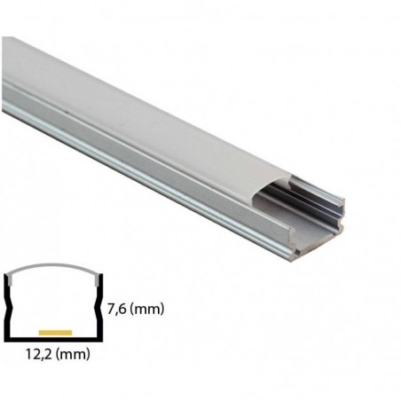 Cumpara Profil Din Aluminiu Pentru Banda LED MC-A55-2 2m in Romania, livrarea in toata Romania