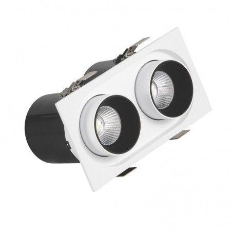 Cumpara Spot cu LED orientabil incastrabil LM-S1030R 2*12W LED market in Romania, livrarea in toata Romania