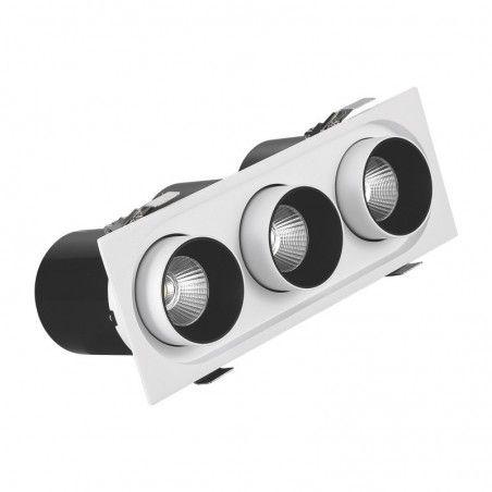 Cumpara Spot cu LED orientabil incastrabil LM-S1030R 3*7W LED market in Romania, livrarea in toata Romania