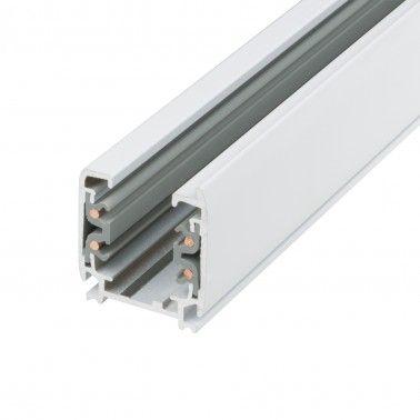 Cumpara Șina aplicabilă pentru proiector H-04 3000 (mm) 4 faze Albă LED market in Romania, livrarea in toata Romania