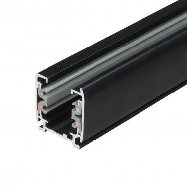 Cumpara Șina aplicabilă pentru proiector H-04 3000 (mm) 4 faze Neagra LED market in Romania, livrarea in toata Romania
