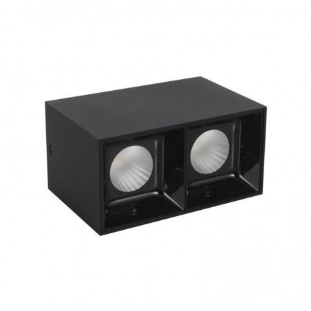 Cumpara Aplica cu LED LM-3008 2*18W Neagra LED market in Romania, livrarea in toata Romania