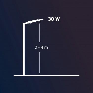 Cumpara Corp de iluminat cu LED stradal LEAF 2 COB LED market 30 (W) in Romania, livrarea in toata Romania