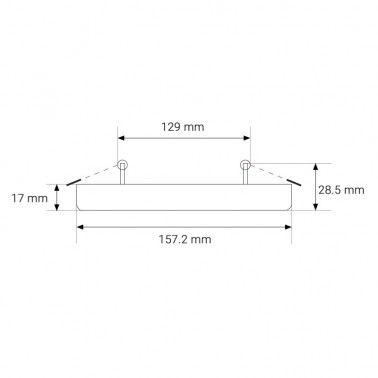 Cumpara Spot LED Rotund NonFrame Incastrat LM-5824-RR 24W in Romania, livrarea in toata Romania