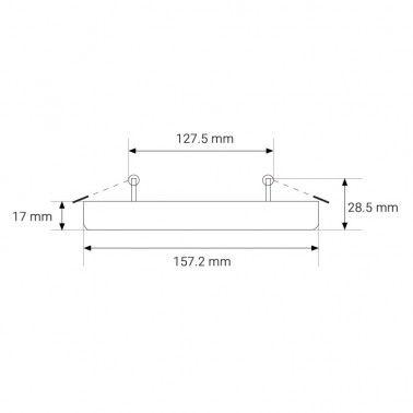 Cumpara Spot LED Patrat NonFrame Incastrat LM-5824-SR 24W in Romania, livrarea in toata Romania