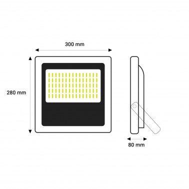 Cumpara Proiector LED 100 W in Romania, livrarea in toata Romania