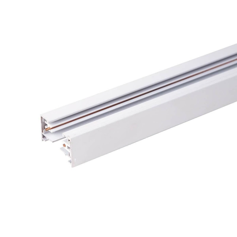 Cumpara Șina aplicabilă pentru proiector WJ-D02-1 1000 (mm) 2 faze Albă LED market in Romania, livrarea in toata Romania