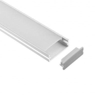 Cumpara Profil de aluminiu pentru banda LED LMX-3010 2m in Romania, livrarea in toata Romania