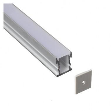 Cumpara Profil de aluminiu pentru banda LED LMC-2126 2m in Romania, livrarea in toata Romania