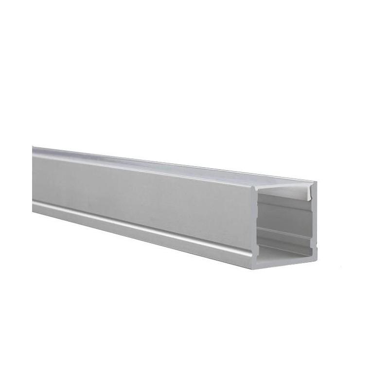 Cumpara Profil de aluminiu pentru banda LED LMX-2020 2m in Romania, livrarea in toata Romania