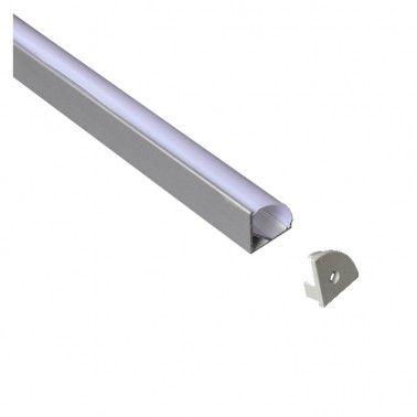 Cumpara Profil de aluminiu pentru banda LED LMX-1616 2m in Romania, livrarea in toata Romania