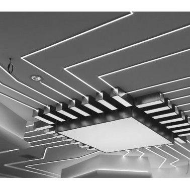Cumpara Profil de aluminiu pentru banda LED LMX-3020 2m in Romania, livrarea in toata Romania