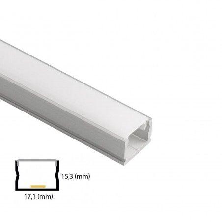 Cumpara Profil Din Aluminiu Pentru Banda LED L006 2m in Romania, livrarea in toata Romania