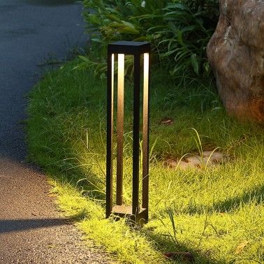 Cumpara Stalp LED iluminat gradina A056-2 12W in Romania, livrarea in toata Romania