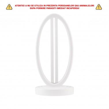 Cumpara Lampa germicida LM-UVCX38B UVC-Ozon ultravioleta sterilizare UV si telecomanda 38W alb in Romania, livrarea in toata ...