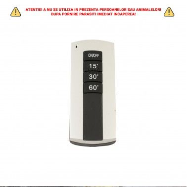 Cumpara Lampa germicida LM-UVCX38B UVC-Ozon ultravioleta sterilizare UV si telecomanda 38W negru in Romania, livrarea in toat...