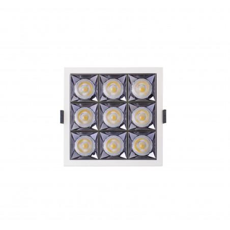 Spot LED 30W - 50 000 ore, patrat incastrabil, LED Market, LM-XL003