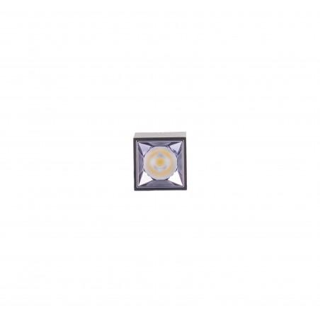 Spot LED 5W, 570lm - 50 000 ore, aplicat, LED Market, LM-XL004-5WL,  Corp Negru