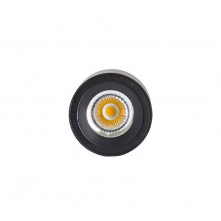 Spot LED 12W, 1368lm - 50 000 ore, aplicat, LED Market, M1810B, Corp Negru