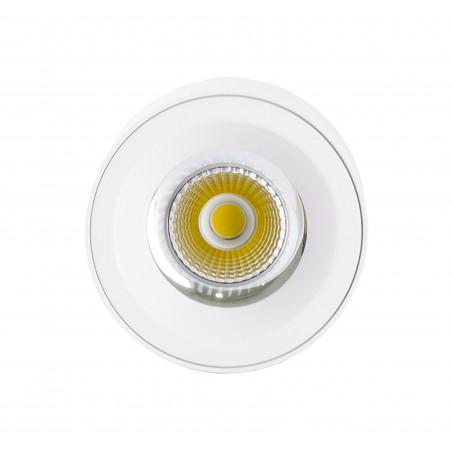 Spot LED 30W, 3420lm - 50 000 ore, aplicat, LED Market, M1810B, Corp Alb