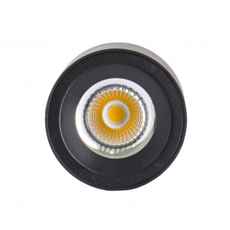 Spot LED 30W, 3420lm - 50 000 ore, aplicat, LED Market, M1810B, Corp Negru