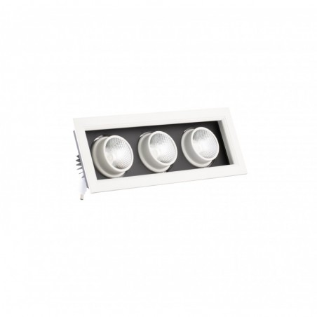 Spot cu LED orientabil incastrabil LED market 3COB X160-3