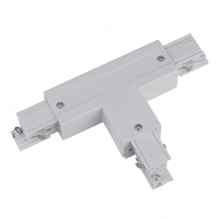 Track Line Conector 2x90° T Type 4wires WHITE H-04 LEFT