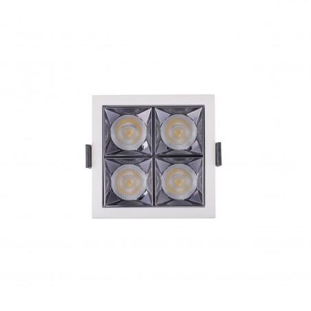 Spot LED 20W - 50 000 ore, patrat incastrabil, LED Market, LM-XL003