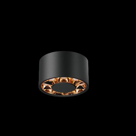 Spot LED aplicat LM-XC006-12W-BK+RG