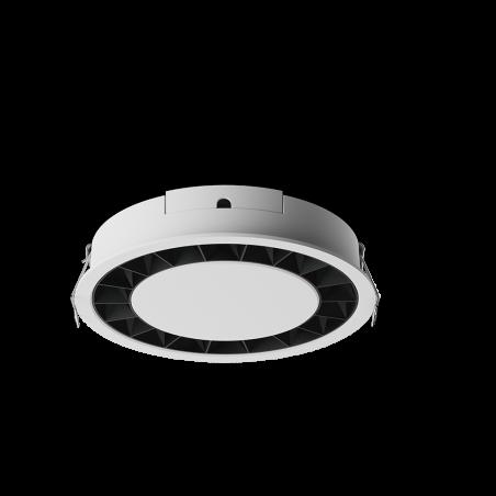 Spot LED rotund incastrabil LM-XD006-24W-WH+BK